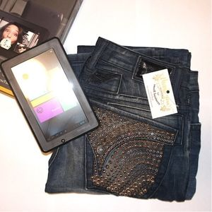 Real 100% Authentic Robin's Jean with free gift